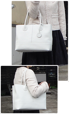 アニエナイ・トートバッグ(Lサイズ・ホワイト)イメージ1